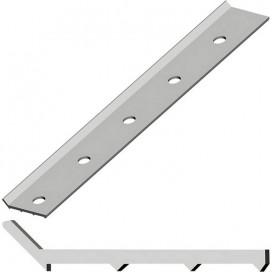 Краевая рейка алюминиевая Termoclip 3000*32*3,0мм, шт