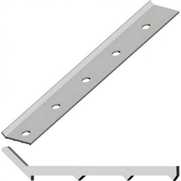 Краевая рейка алюминиевая 3000*32*3 мм