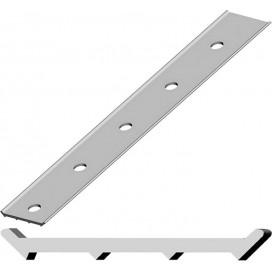 Прижимная рейка алюминиевая Termoclip 3000*27*3,0мм, шт