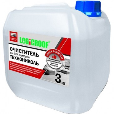 Очиститель для ПВХ мембран Технониколь 3 л, Logicroof