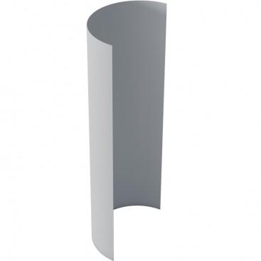 ПВХ металл серый 100*200 см