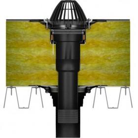 Воронка кровельная Технониколь с обжимным фланцем 110*450 мм